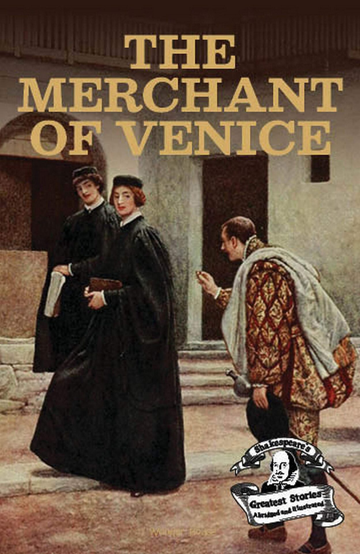 The Merchant of Venice book for 10 year old kids