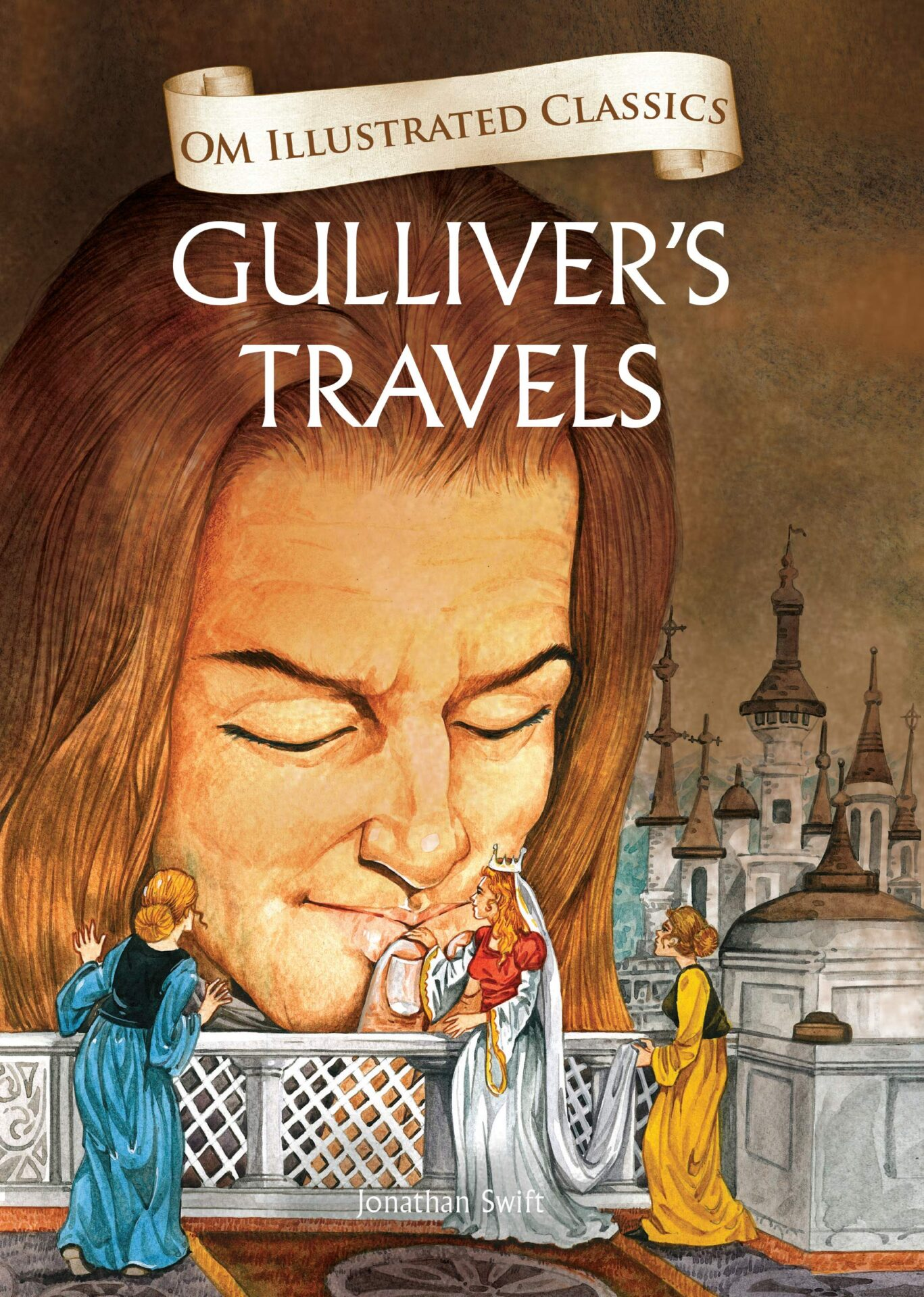 Gulliver's Travels book for 10 year old kids