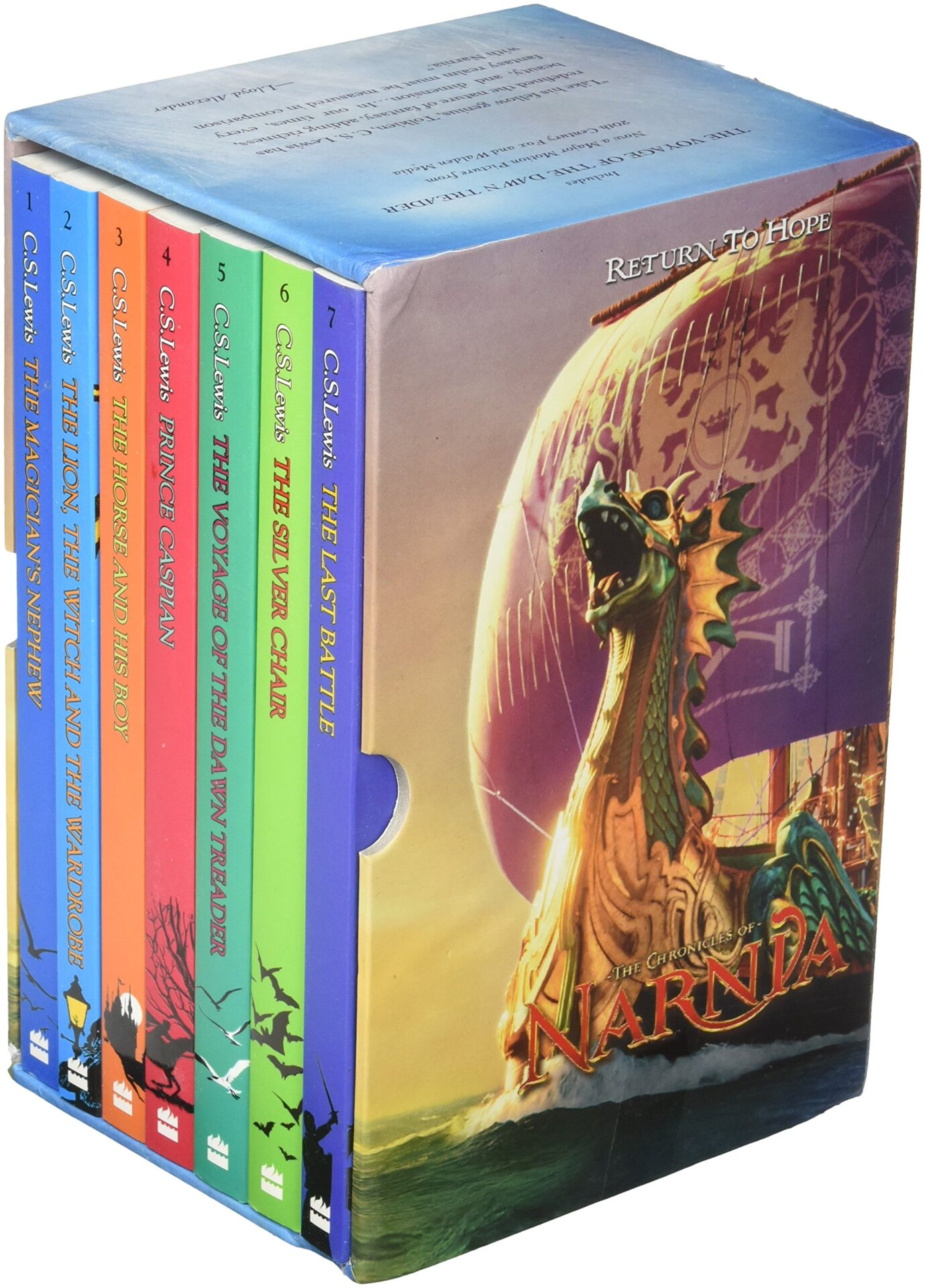 Narnia series for 10 year old kids
