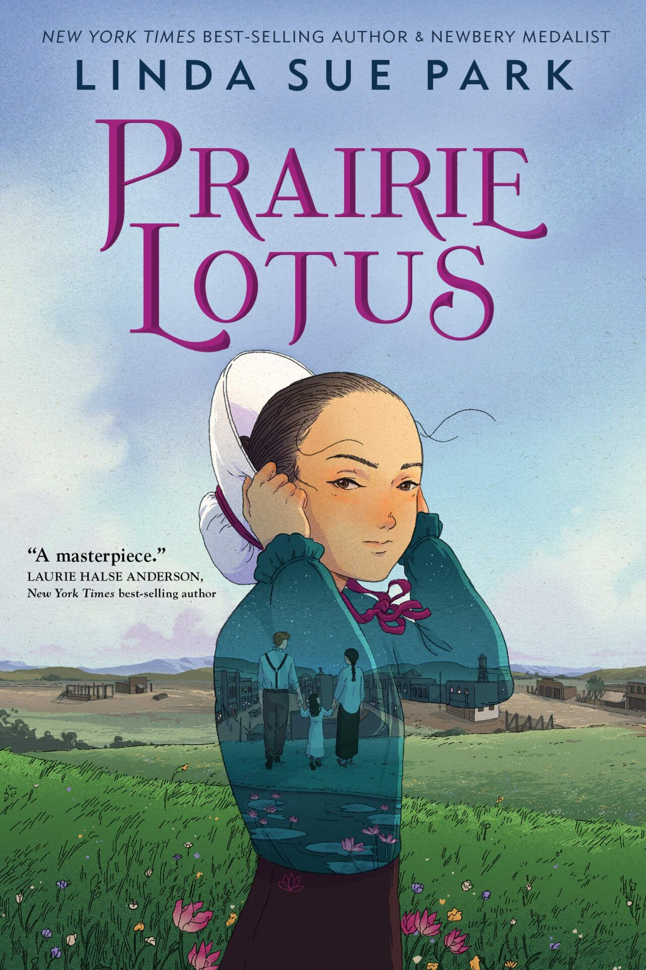 Prairie Lotus book for 10 year olds