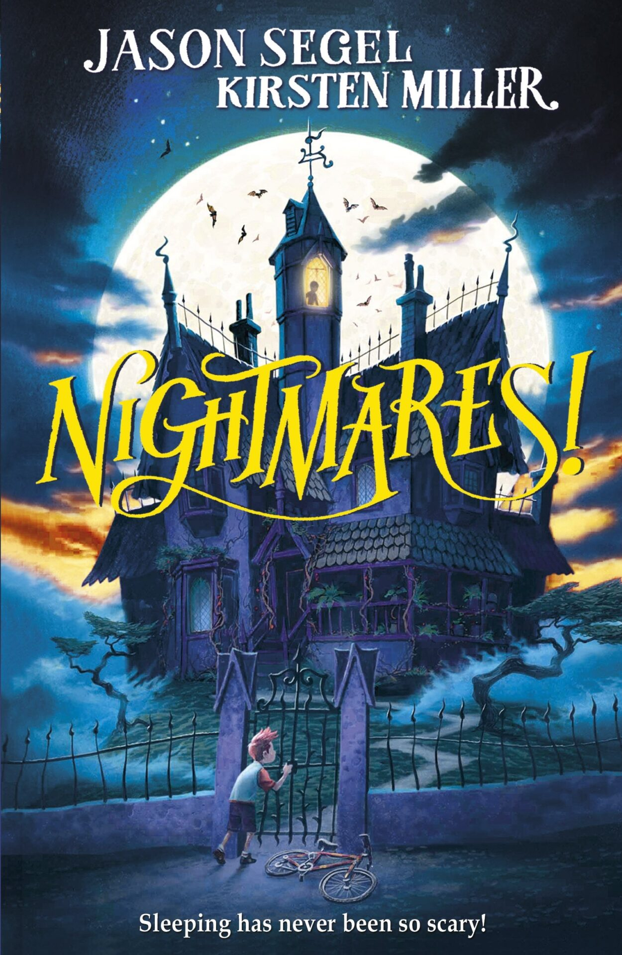 Nightmares! book for 10 year old kids