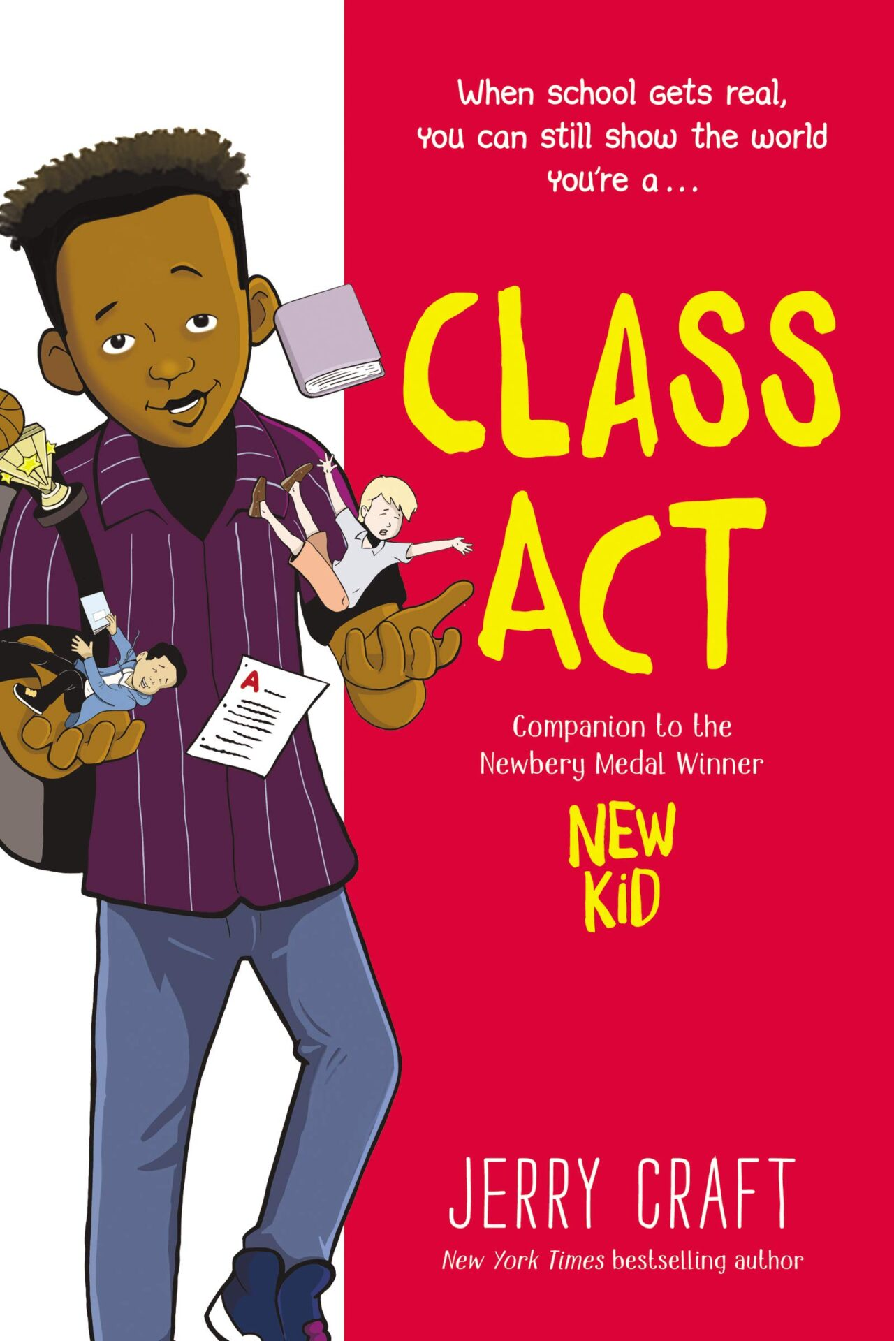 Class Act book for 8 year old kids
