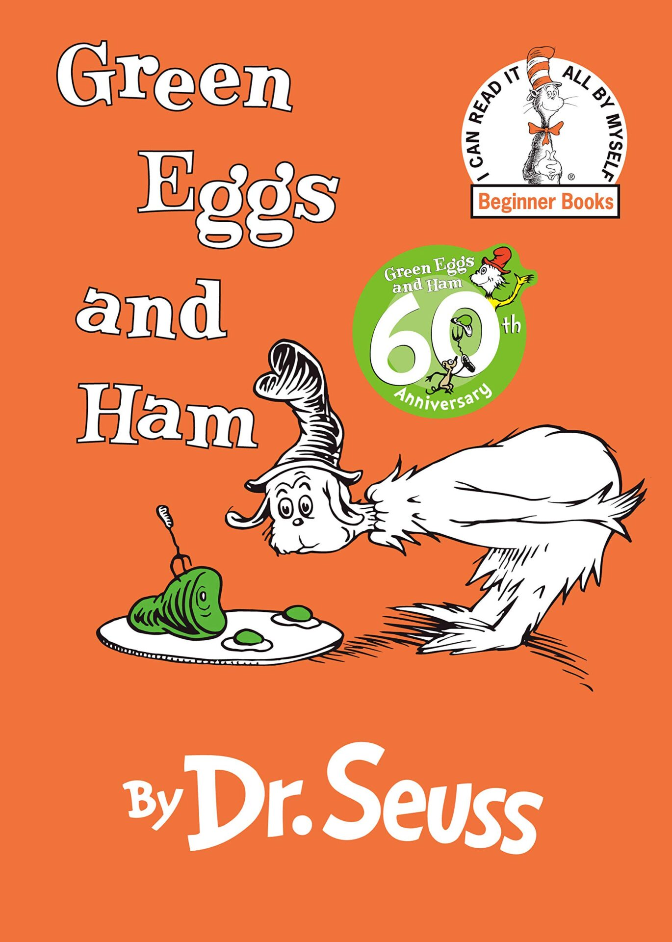 Green Eggs and Ham by Dr. Seuss book for 3 year old kids