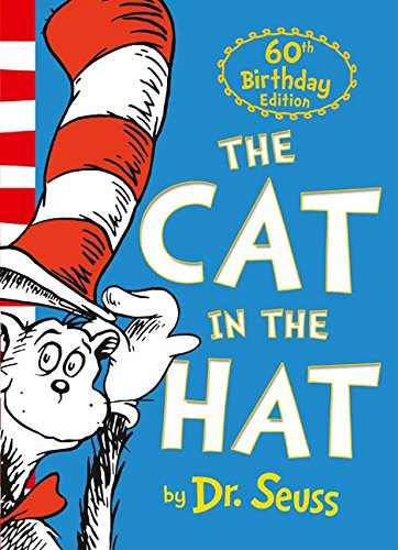 The Cat in the Hat by Dr. Seuss book for 3 year old kids