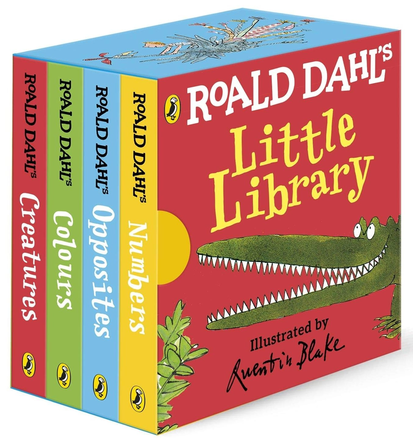 Roald Dahls Little Library books for 3 year old kids