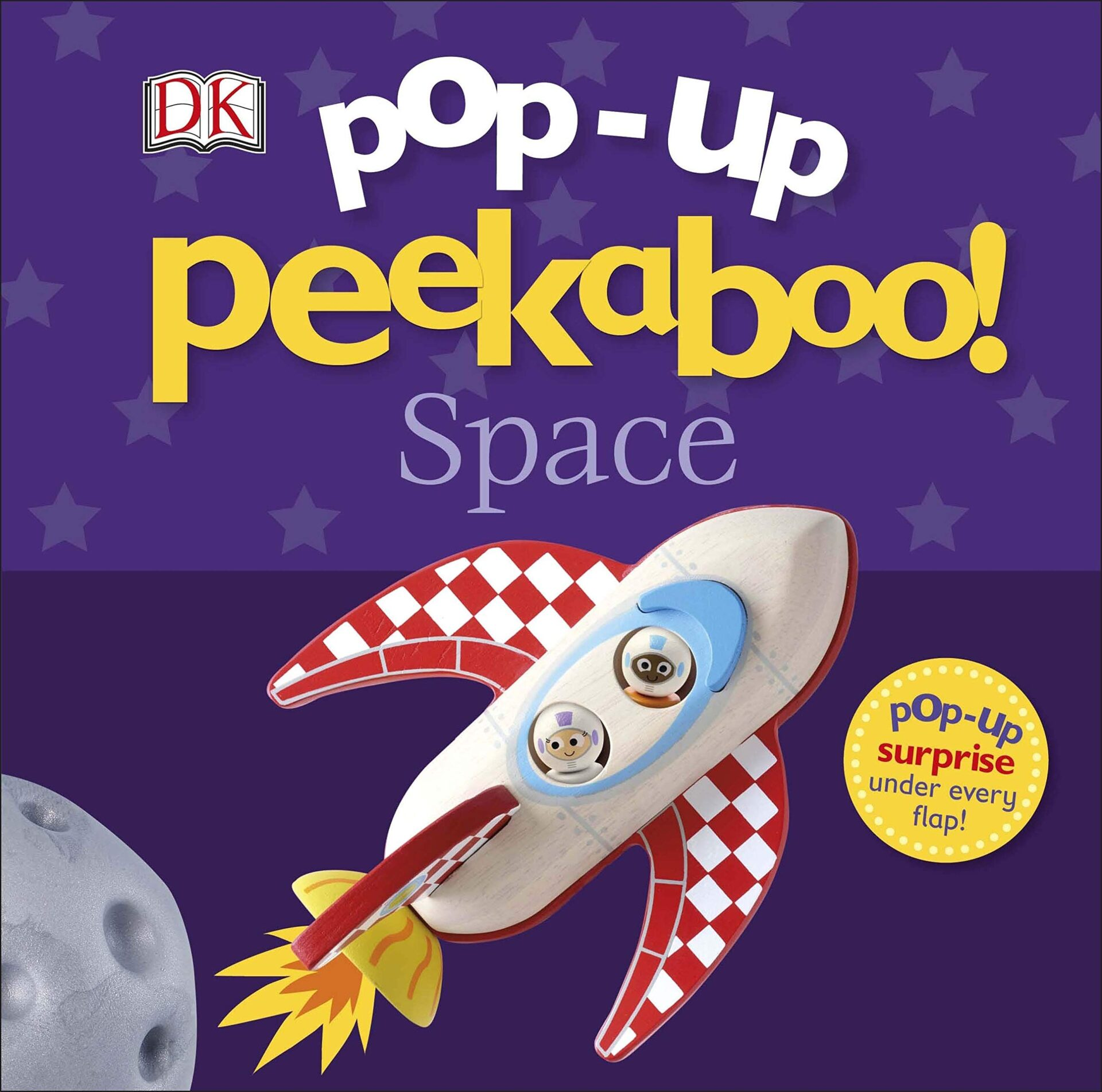 Pop up peekaboo! Space book for 3 year old kids