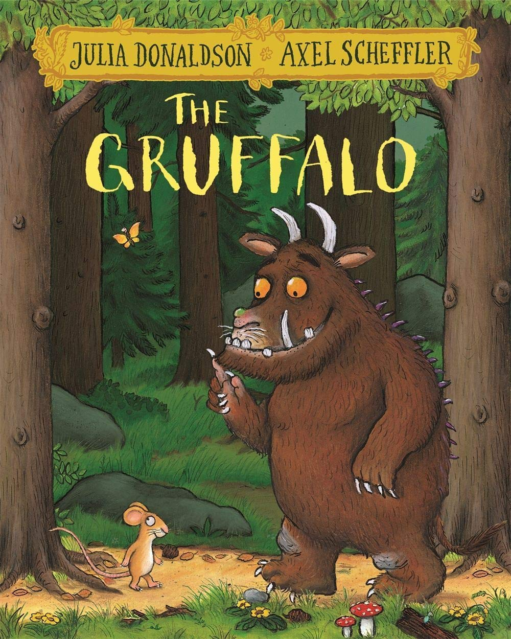 The Gruffalo book for 3 year old kids