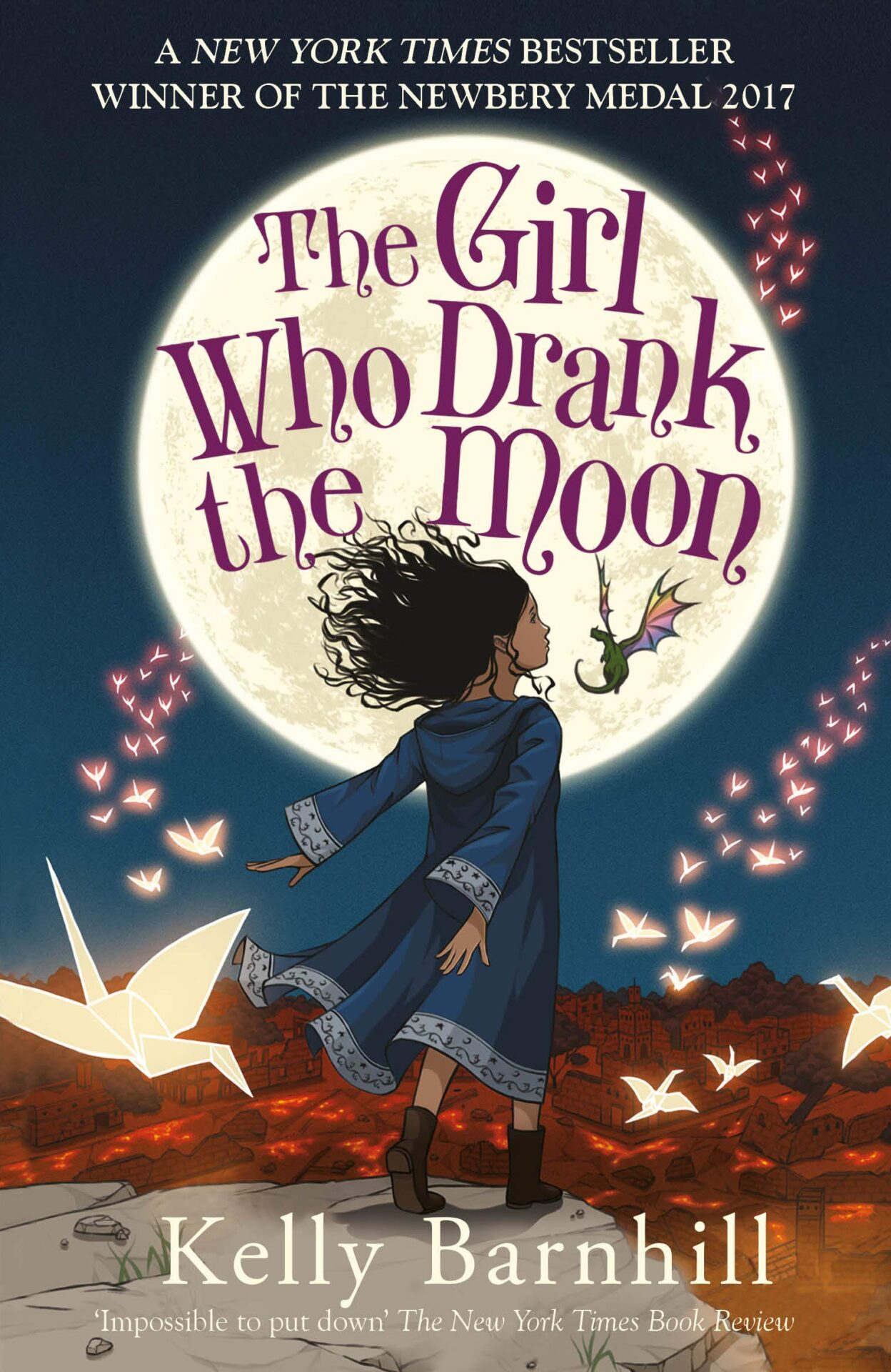 The Girl Who Drank the Moon book for 9 year old kids