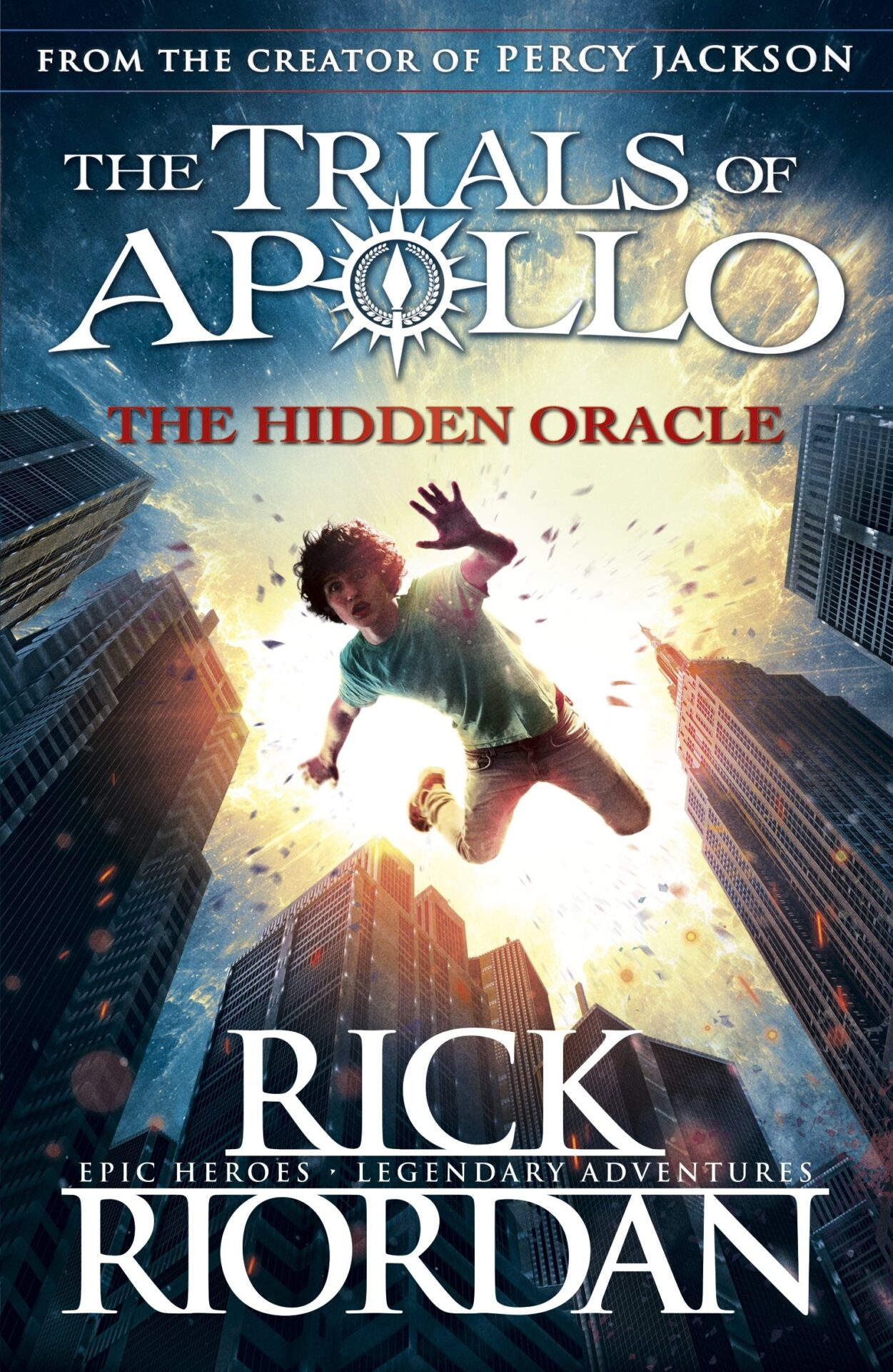 The Trails of Apollo book for 9 year old kids