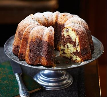 Easy Marble Cake recipe to try at home