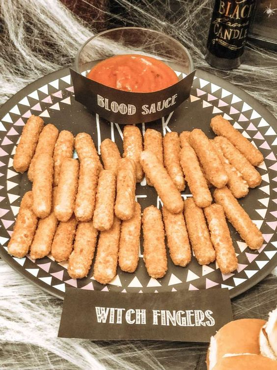Halloween party snack ideas for kids and adults